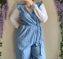 Load image into Gallery viewer, Ruffled Cottagecore Jumpsuit