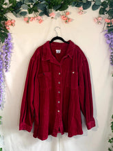 Load image into Gallery viewer, Red Corduroy Jacket