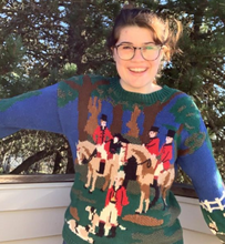 Load image into Gallery viewer, Vintage Horse and Fox Sweater