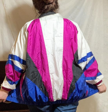 Load image into Gallery viewer, Vintage Geometric Windbreaker