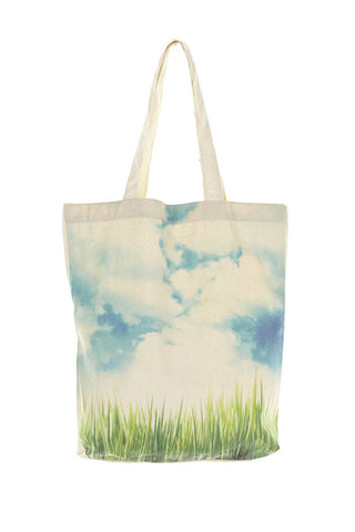 Tote Bags - Dreams In Colour Clouds In The Sky
