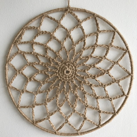 Dreamcatchers/Wall Hangings - Twine Crochet