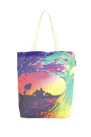 Tote Bags - Dreams In Colour Sunset Wave