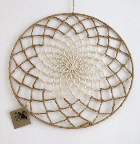 Dream Catchers/Wall Hangings - Two Tone with Twine