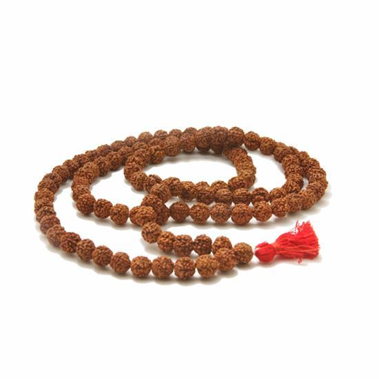 Rudraksha Natural Beads Mala - 108 Beads