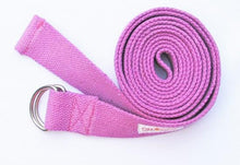 Load image into Gallery viewer, OMSutra Yoga Strap - D Ring 8'