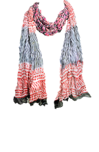 Load image into Gallery viewer, Floral fashion Chiffon Scarves