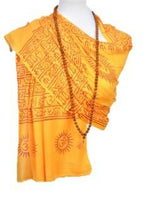 Load image into Gallery viewer, OM Bhakti Prayer Shawl - Medium -Color Base