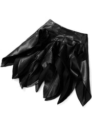 Black Flames Skirt - Gritty Soul Apparel