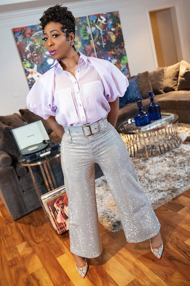 Cleopatra Stones Pant - Gray - Gritty Soul