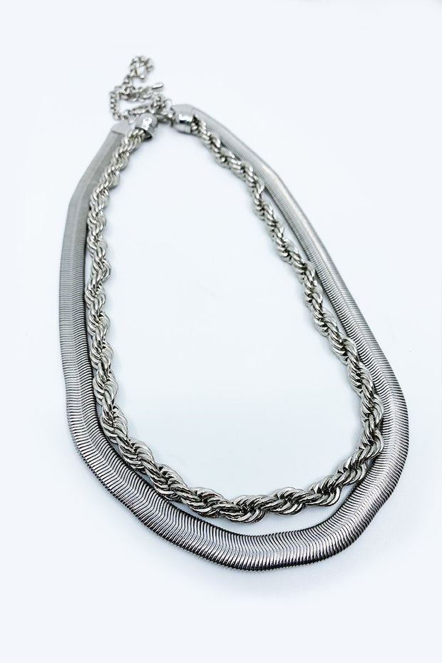 Dope Herringbone Rope Necklace - Gritty Soul