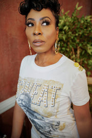 Keith Sweat Stamped-n-Studded-Out Tee - Gritty Soul Apparel