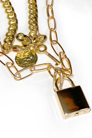 Lock It Down Lena Linx Chain - Gritty Soul Apparel