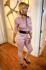 Marvelous Mauve Jumpsuit - Gritty Soul