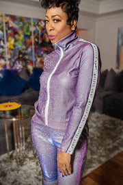 Purple Reign Gritty Soul Tracksuit - Gritty Soul Apparel