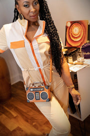 Radio Raheema Mini Crossbody Bag - Gritty Soul Apparel