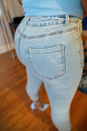 Stoned & Distressed Out Denim Jeans - Gritty Soul Apparel