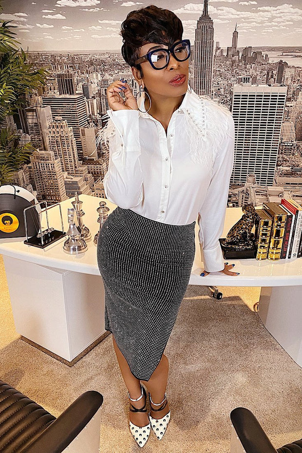 Stones Stunna Skirt - Gritty Soul