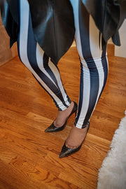 Striped Life Leggings - Gritty Soul Apparel