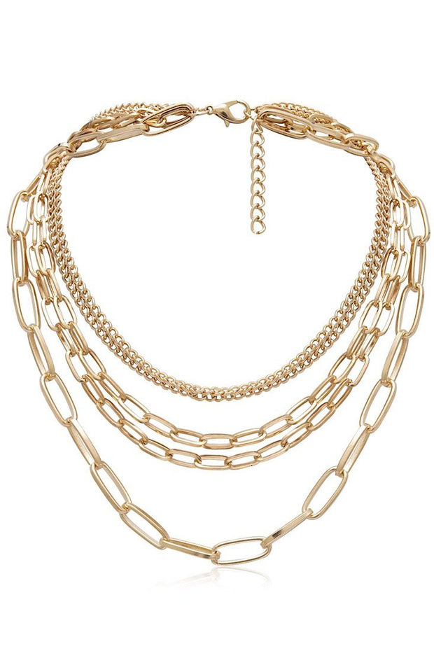 Triple Deck Necklace Set - Gritty Soul
