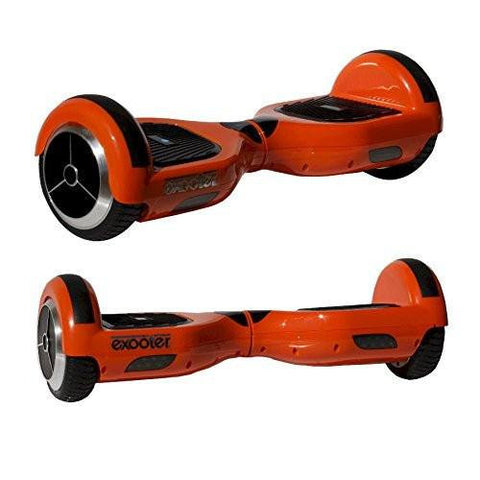 EXOOTER M1150OR Self Balancing Electric Scooter With LG Lithium Battery In Orange.