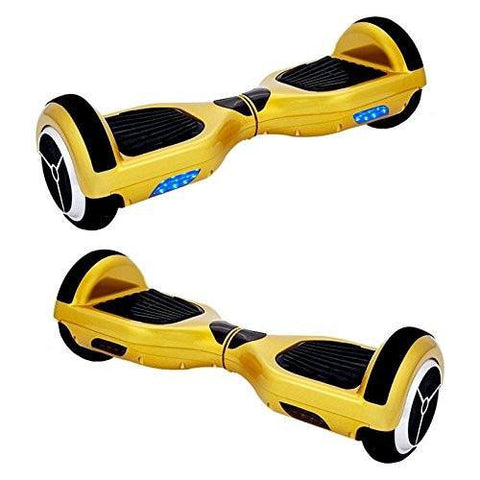 EXOOTER M1150YL Self Balancing Electric Scooter With LG Lithium Battery In Yellow.
