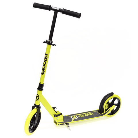 EXOOTER M1450BG 5XL Teen Kick Scooter With 200mm Wheels In Vibrant Green. - EXOOTER USA