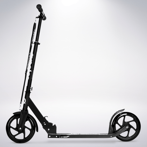 EXOOTER M1475BK 5XL Teen Kick Scooter With 200mm Wheels In Black Finish.