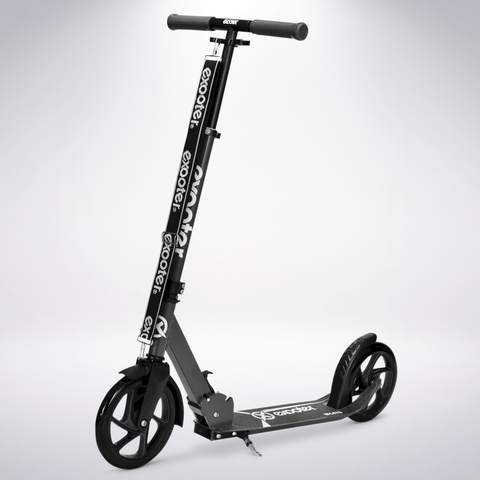 EXOOTER M1475CH 5XL Teen Kick Scooter With 200mm Wheels In Charcoal Finish.