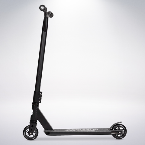 EXOOTER T3BK Trick Scooter With 110mm Aluminum Core Wheels In Black.