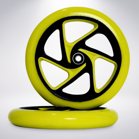 "EXOOTER W1420VG 200mm (8"") Polyurethane Replacement Scooter Wheels With Bearings."