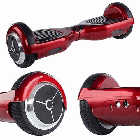 EXOOTER M1150BU Self Balancing Electric Scooter With LG Lithium Battery In Burgundy.