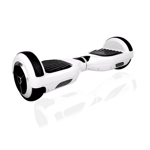EXOOTER M1150WT Self Balancing Electric Scooter With LG Lithium Battery In White.