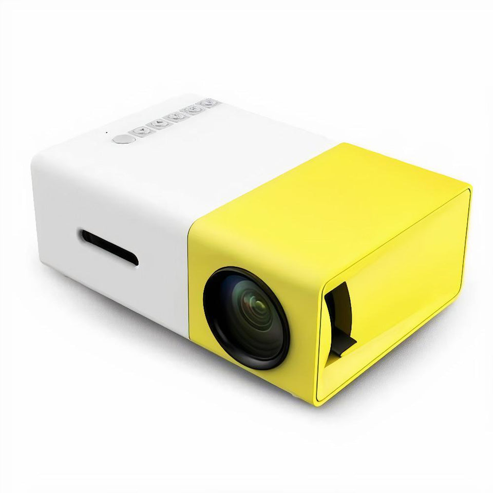 PORTABLE 4K HOME THEATRE PROJECTOR - 6 MONTHS WARRANTY