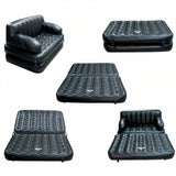 STYLE DREAM AIRSOFA PVC 3 SEATER INFLATABLE SOFA (COLOUR — BLACK)