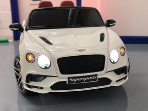 BENTLEY CONTINENTAL SPORTS TWO SEATS 12V KIDS RIDE ON CAR WITH REMOTE