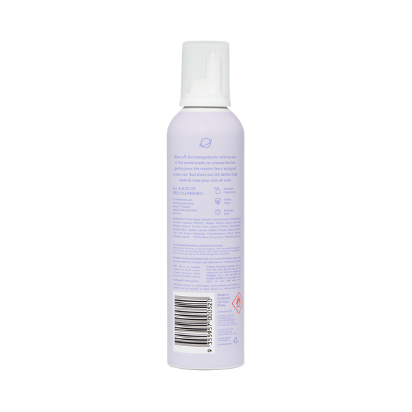Deep Cleansing Whipped Shower Foam