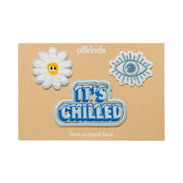 Stick-On Patch Pack (Clearly Cool)