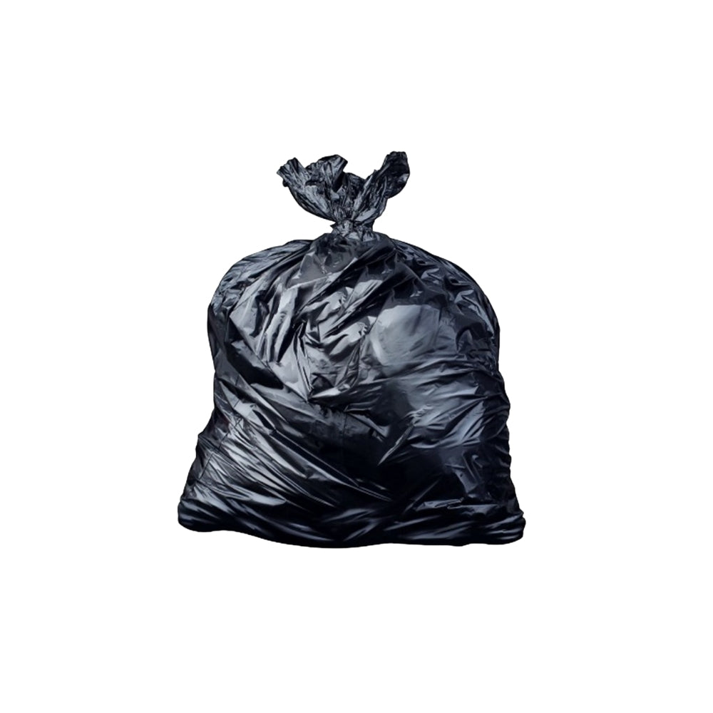 Black Refuse sack  26 x44 30 mu x 200