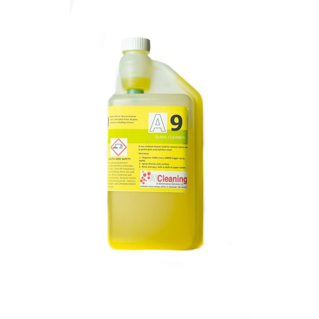 A1 Cleaning Glass Cleaner