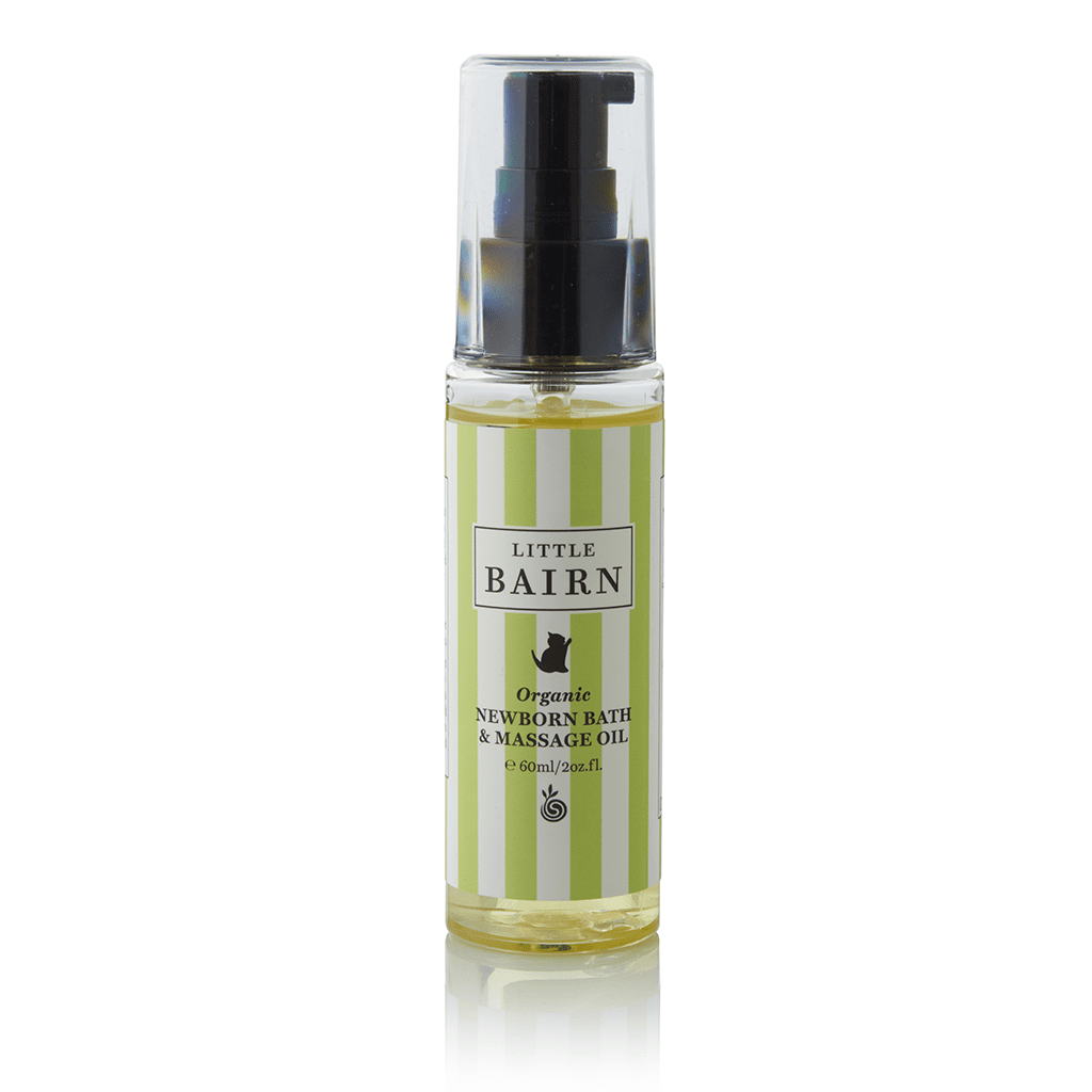 Newborn Bath and Massage Oil