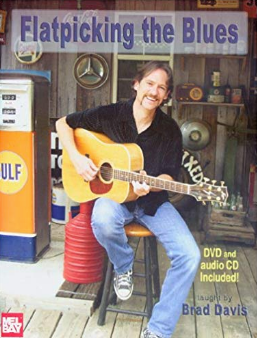Flatpicking The Blues Book/CD - Let Brad show you how to flatpick the blues!