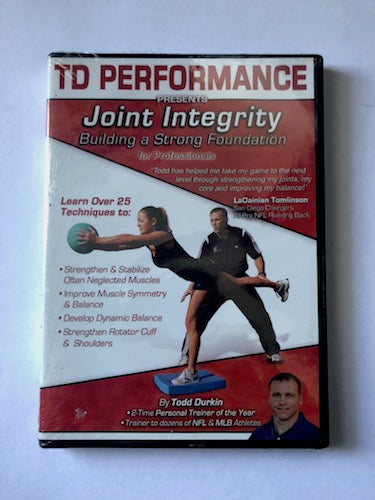 Tod Durkin TD Performance DVD - Joint Integrity