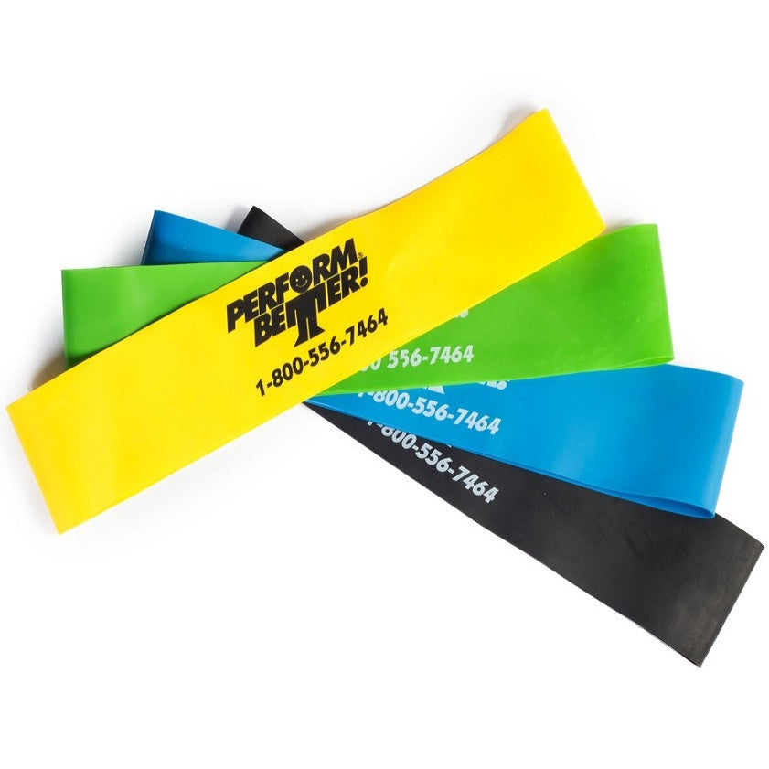 Mini Exercise Bands 23cm - Perform Better AU