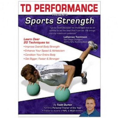 TD Performance DVD - Sports Strength - Perform Better AU