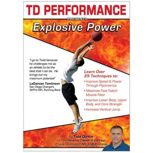 TD Performance DVD - Explosive Power - Perform Better AU