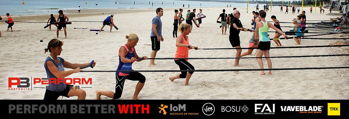 Perform Better with innovative fitness tools like TRX, BOSU, ViPR, Twist, Spri and more!