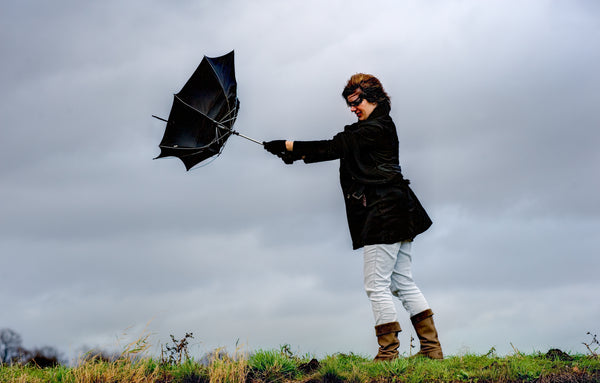 What makes an umbrella Windproof?