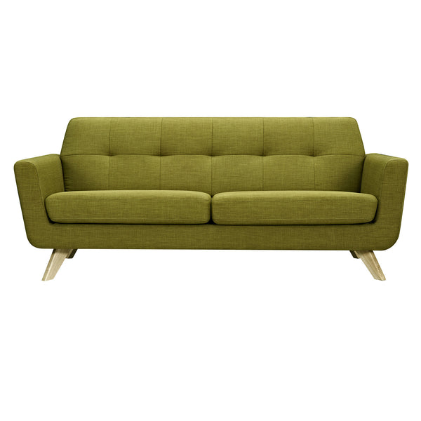Avocado Green Dania Sofa - Natural