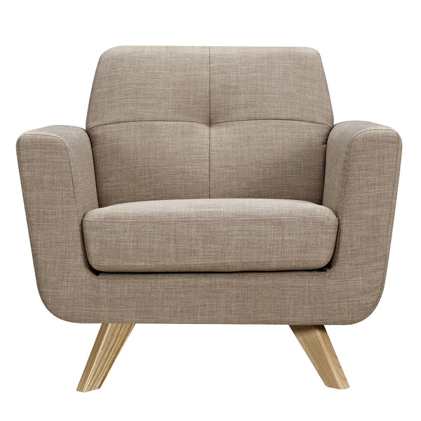 Light Sand dania Armchair - Natural
